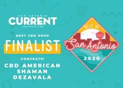 CBD American Shaman DeZavala Finalist
